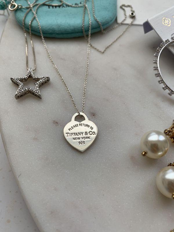 Tiffany & Co Heart Necklace