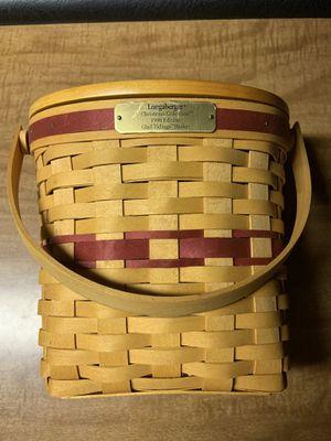 Longaberger basket for Sale in Middleburg, PA