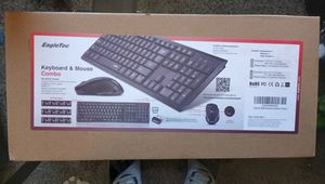 EagleTec Wireless Keyboard and Mouse Combo for Sale in Baytown, TX
