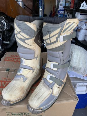 Fly motocross boots for Sale in Gilbert, AZ