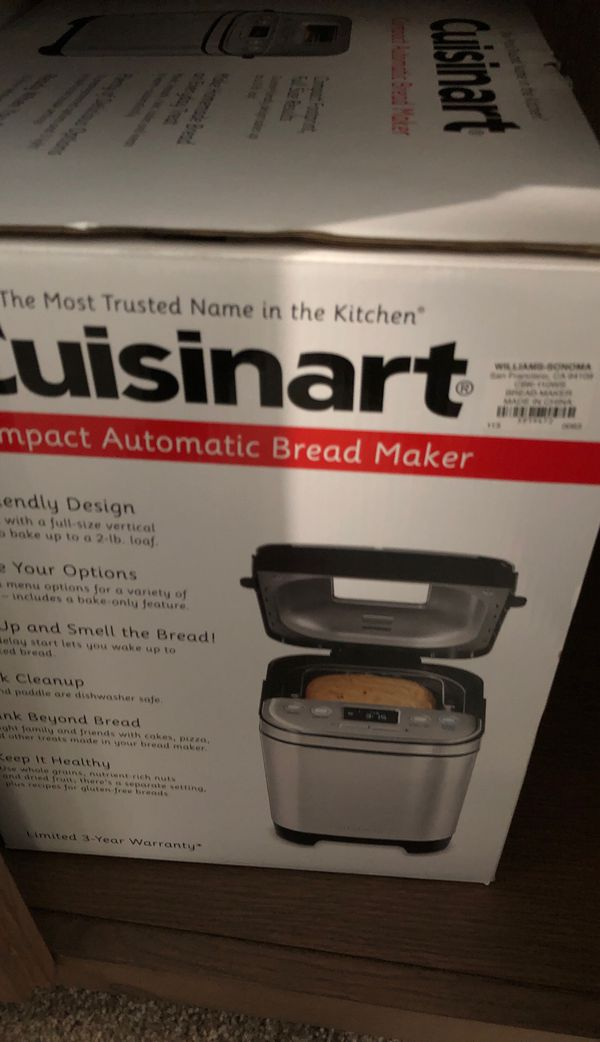 Cousinart bread maker
