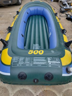 Seahawk inflatable boat 500 / 68338 for Sale in Fort Worth, TX