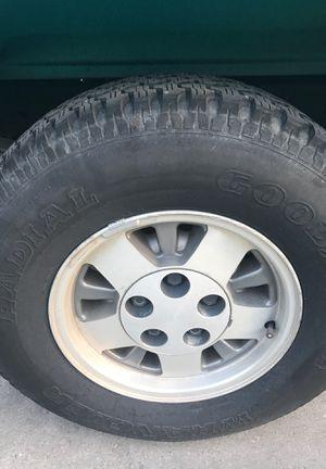 5lug Silverado Rims With Tires for Sale in Los Angeles, CA