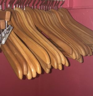 Wooden hangers for Sale in Brooklyn, NY
