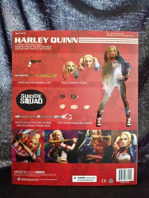 Mezco Toys one:12 Suicide Squad Harley Quinn for Sale in Boyertown, PA