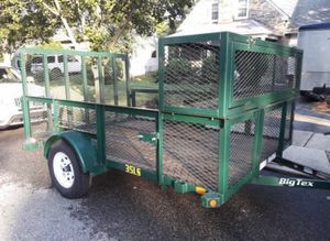 New AMERICAN TEX HIGH MESH UTILITY TRAILER 7' X 10' G V W R 2990 LBS. for Sale in Havertown, PA