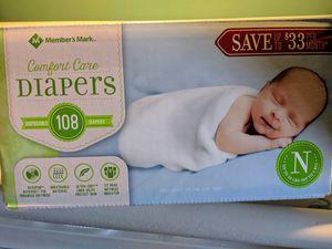 Newborn diapers 108 for Sale in Pomona, CA