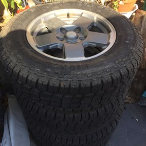 Set of 4Tires for Sale in Pomona, CA