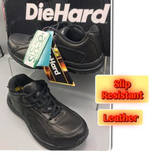 Die Hard Women's Addison Slip Resistance Oxford Leather Work Sneakers for Sale in Red Bank, NJ