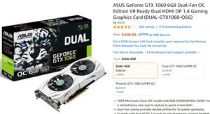 Graphics card for Sale in State College, PA