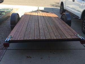 Heavy Duty Flatbed Utility Trailer for Sale in Phoenix, AZ