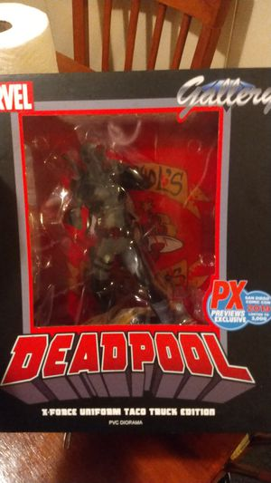 Deadpool collectible action figure for Sale in Pinellas Park, FL