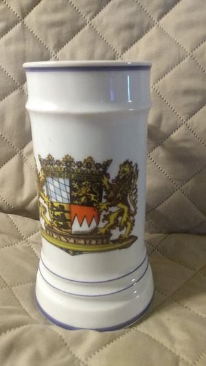 Vintage Bayern Oktoberfest beer stein :coat of arms for Sale in Lake Havasu City, AZ