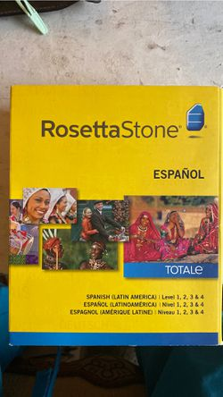 Rosetta Stone Spanish for Sale in Palatine,  IL