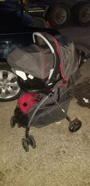 baby stroller plus infant seat and bais for Sale in Chicago, IL