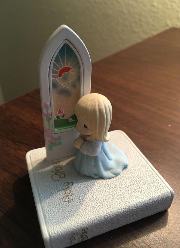 Precious Moments Plastic Figurine