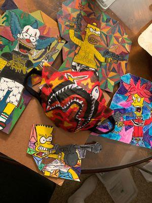 Custom bape mask for Sale in Springfield, VA