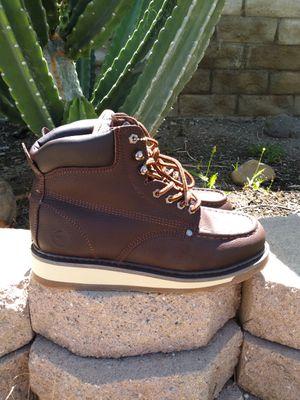 Leather Work Boots-Bota de Piel de Trabajo for Sale in Santa Ana, CA
