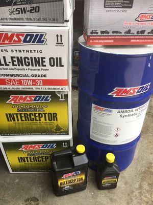 Petes Amsoil interceptor snowmobil oil. Full line dealer. for Sale in Entiat, WA