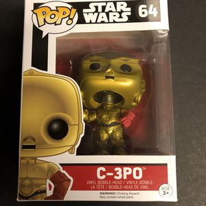 Funko Pop Star Wars C-3PO for Sale in San Antonio, TX
