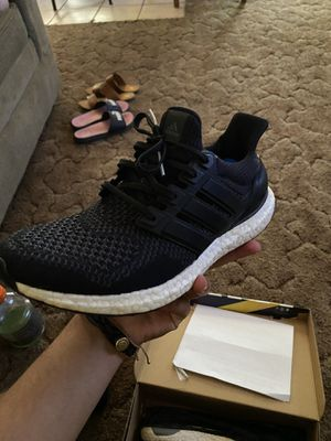 Adidas Ultra Boost Core Black 1.0 for Sale in Beaumont, CA