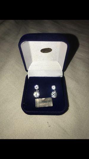 Round Drop Diamond Earrings for Sale in Phoenix, AZ