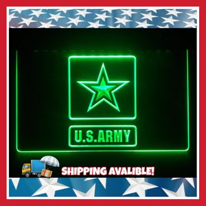 """🇺🇸NEW 3D ARMY. MARINES. FIREFIGHTERS(+OTHERS ) 8x 12"""" LED SIGN🇺🇸MAN CAVE. BAR. GARAGE. OFFICE LIGHT/SING/PLAQUE🇺🇸 for Sale in Ontario, CA"""