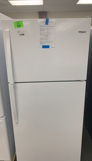 BRAND NEW WHIRLPOOL TOP AND BOTTOM REFRIGERATOR WITH WARRANTY for Sale in Redondo Beach, CA