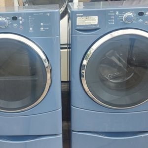 KENMORE GAS DRAYER AND WASHER MACHINE GOOD CONDITION VERY QUIET EXTRA HAVY for Sale in Stockton, CA