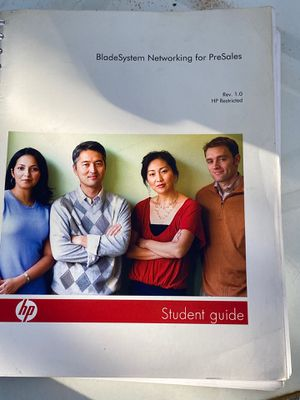 HP networking book for Sale in New Haven, CT