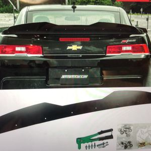 Spec D tuning satin black Wickerbill for 14-15 Chevy Camaro Z28 spoiler new rivet one for Sale in Greenwood, IN