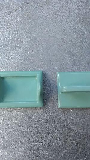 Vintage Ceramic Tile Fixtures Toothbrush/cup holder Toiletpaper holder for Sale in Cranston, RI