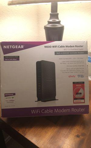 NETGEAR modem router for Sale in Herndon, VA