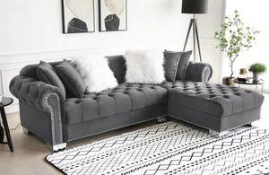 Royal Velvet Sectional Sofa for Sale in Houston, TX