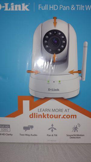 D-Link Full HD Pan & Tilt Wi-Fi Camera for Sale in Orlando, FL