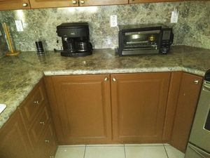 Kitchen cabinets and sink and counter top price is 750.00 firm for Sale in Miami, FL