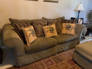 Sofa, chair and ottoman (SO COMFORTABLE) for Sale in Boynton Beach, FL