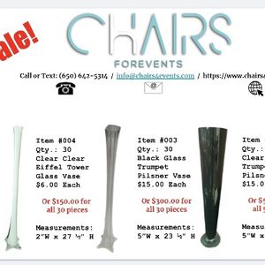 Vases For Flowers for Sale in Redwood City, CA
