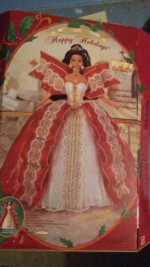 10th Anniversary Special Edition Happy Holidays Barbie for Sale in Chandler, AZ