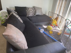 Large sectional couch for Sale in SeaTac, WA
