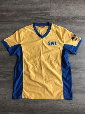 Sweden soccer football jersey for Sale in Tampa, FL