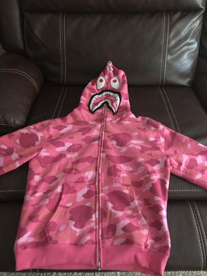 Pink Bape Hoodie for Sale in Auburndale, FL