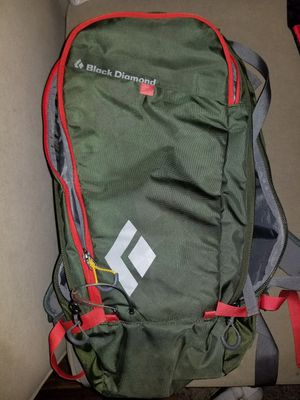 Black Diamond avalung backpack and safety set along with skis for Sale in Denver, CO
