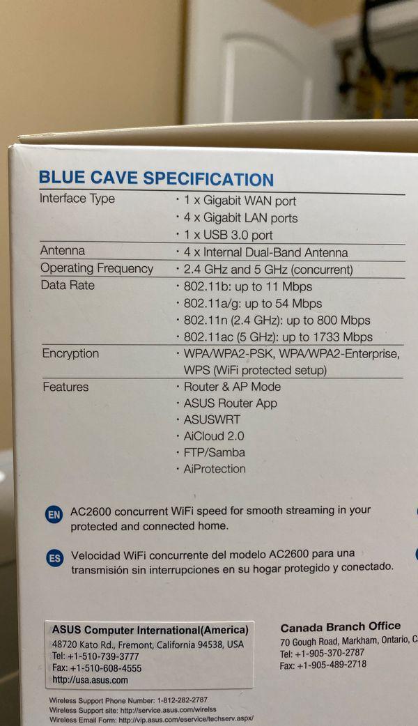 ASUS AC2600 WiFi Router - Dual Band - Aimesh