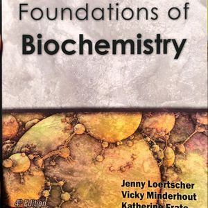 Foundations of Biochemistry Workbook 4th Edition for Sale in Reading, PA