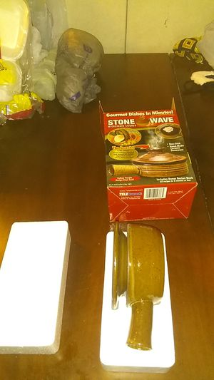 Stone wave microwave cooker for Sale in Tampa, FL
