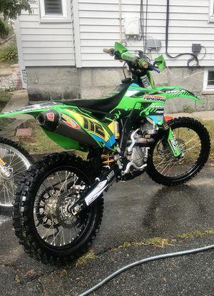 Kawasaki 250 KX 250F 2014 Dirty bike motorcycle for Sale in Lowell, MA
