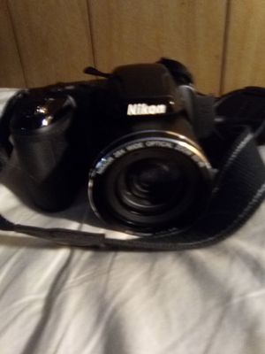 Nikon Coolpix L340 Digital Camera 28x Optical Zoom Wide for Sale in Indianapolis, IN