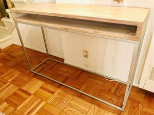 Wood Console Table with Storage for Sale in North Hollywood, CA
