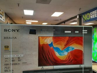 """SONY 75"""" TOP RATED XBR90CH ON SALE NOW HDMI 2.1 VRR NATIVE 120HZ IN BOX WARRANTY TAX ALREADY INCLUDED IN PRICE - PAYMENT OPTIONS for Sale in Glendale,  AZ"""